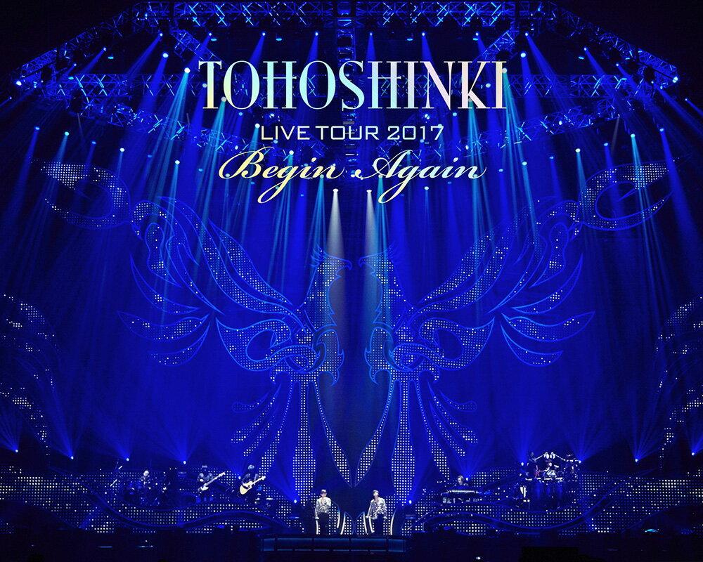 東方神起 LIVE TOUR 2017 ~Begin Again~ Blu-ray Disc2枚組(スマプラ対応)(初回生産限定)【Blu-ray】