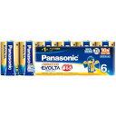 Panasonic エボルタ乾電池 単1形 6本パック LR...