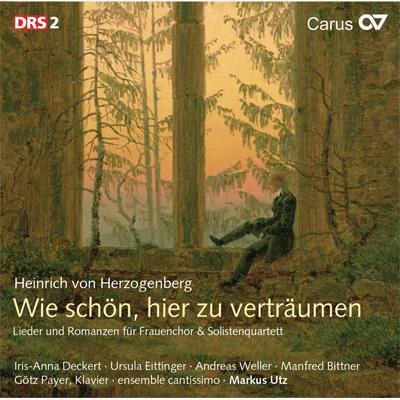 【輸入盤】Lieder Und Romanzen: Utz / Ensemble Cantissimo Deckert Eittinger A.weller Bittner画像