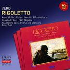 【輸入盤】『リゴレット』全曲 ショルティ&RCAイタリア・オペラ管、メリル、A.クラウス、モッフォ、他(1963 ステレオ)(2CD) [ ヴェルディ(1813-1901) ]