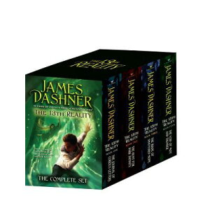 The 13th Reality Boxed Set: The Journal of Curious Letters/The Hunt for Dark Infinity/The Blade of S BOXED-13TH REALITY BOXED SET 4 (13th Reality) [ James Dashner ]