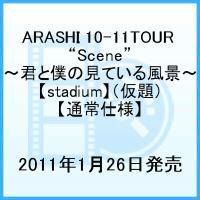 """【送料無料】【3倍対象商品】【通常仕様】ARASHI 10-11TOUR """"Scene""""~君と僕の見ている風景~..."""
