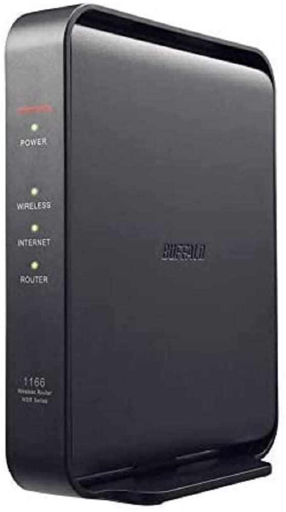 バッファロー 無線LAN親機 11ac/n/a/g/b 866+300Mbps Ipv6対応 ブラック WSR-1166DHPL2/D