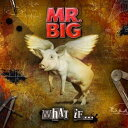 ホワット・イフ…(初回限定CD+DVD) [ MR.BIG ]