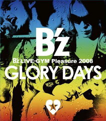 【送料無料】【セール品_0218】B'z LIVE-GYM Pleasure 2008 GLORY DAYS【Blu-ray Disc Video】