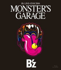 "【送料無料】【セール品_0218】B'z LIVE-GYM 2006 ""MONSTER'S GARAGE""【Blu-ray Disc Video】"