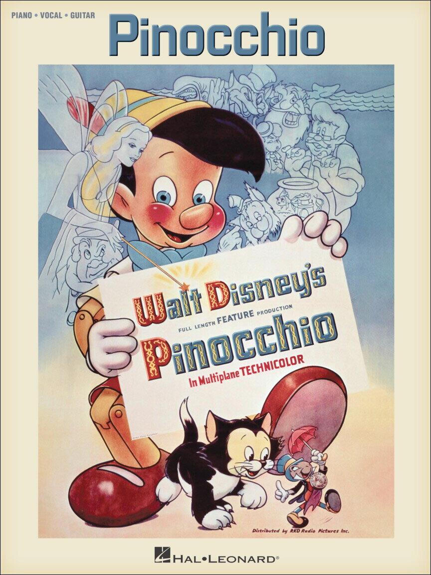 【輸入楽譜】ハーライン, Leight & スミス, Paul J.: ディズニー映画「ピノキオ」(Music from the Full Length Feature Production)画像