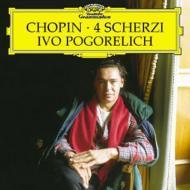 【送料無料】【輸入盤】4つのスケルツォ ポゴレリチ [ ショパン (1810-1849) ]