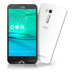 ZenFone GO ホワイト ZB551KL-WH16 (SIMフリー/Android5.1…