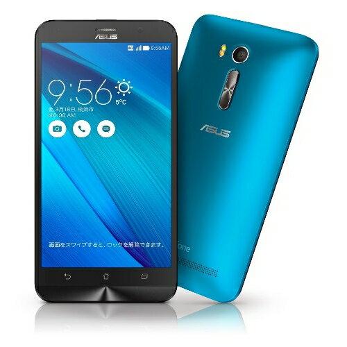 ZenFone GO ブルー ZB551KL-BL16 (SIMフリー/Android5.1.1 /5.5inch /デュアルmicroSIM /LTE)(2...