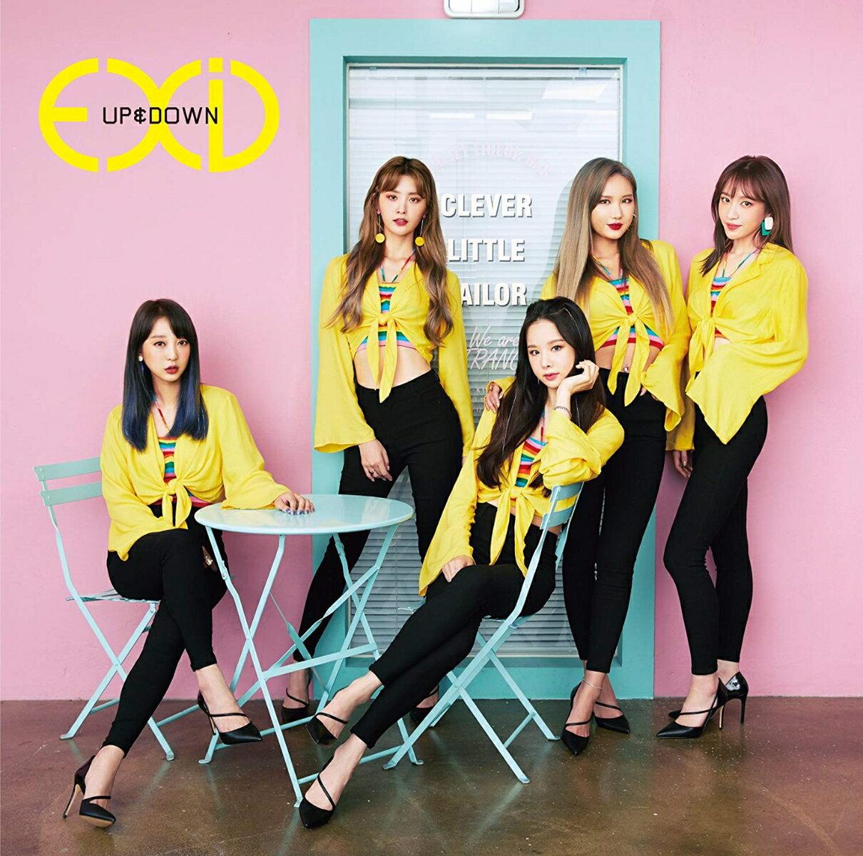 韓国(K-POP)・アジア, その他 UPDOWNJAPANESE VERSION (A CDDVD) EXID