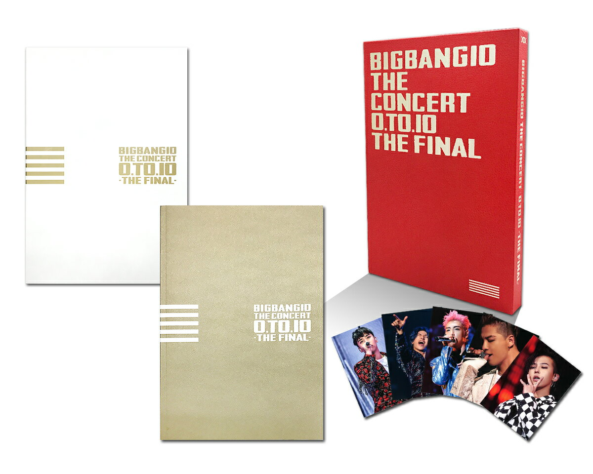 BIGBANG10 THE CONCERT : 0.TO.10 -THE FINAL-[TOUR FINAL @ KYOCERA DOME OSAKA (2016.12.29)][Blu-ray(3枚組)+LIVE CD(2枚組)+PHOTO BOOK+スマプラムービー&ミュージック] -DELUXE EDITION-(初回生産限定盤)【Blu-ray】画像