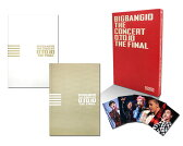 BIGBANG10 THE CONCERT : 0.TO.10 -THE FINAL-[TOUR FINAL @ KYOCERA DOME OSAKA (2016.12.29)][Blu-ray(3枚組)+LIVE CD(2枚組)+PHOTO BOOK+スマプラムービー&ミュージック] -DELUXE EDITION-(初回生産限定盤)【Blu-ray】 [ BIGBANG ]