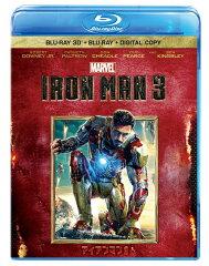 【送料無料】アイアンマン3 3Dスーパー・セット(2枚組/デジタルコピー付き) 【Blu-ray】 [ ...