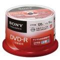 ビデオ用DVD-R CPRM 120分 16倍速 50枚P
