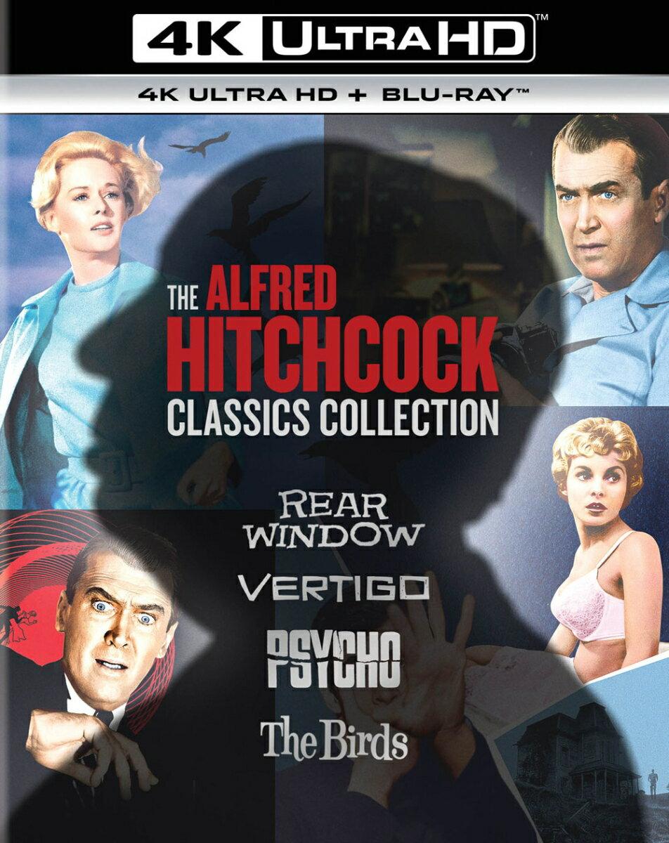 アルフレッド・ヒッチコック クラシックス・コレクション 4K Ultra HD+ブルーレイ【4K ULTRA HD】