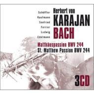 【輸入盤】マタイ受難曲 カラヤン&ウィーン響、フェリアー、W.ルートヴィヒ、シェフラー、エーデルマン、他(1950)(3CD)画像