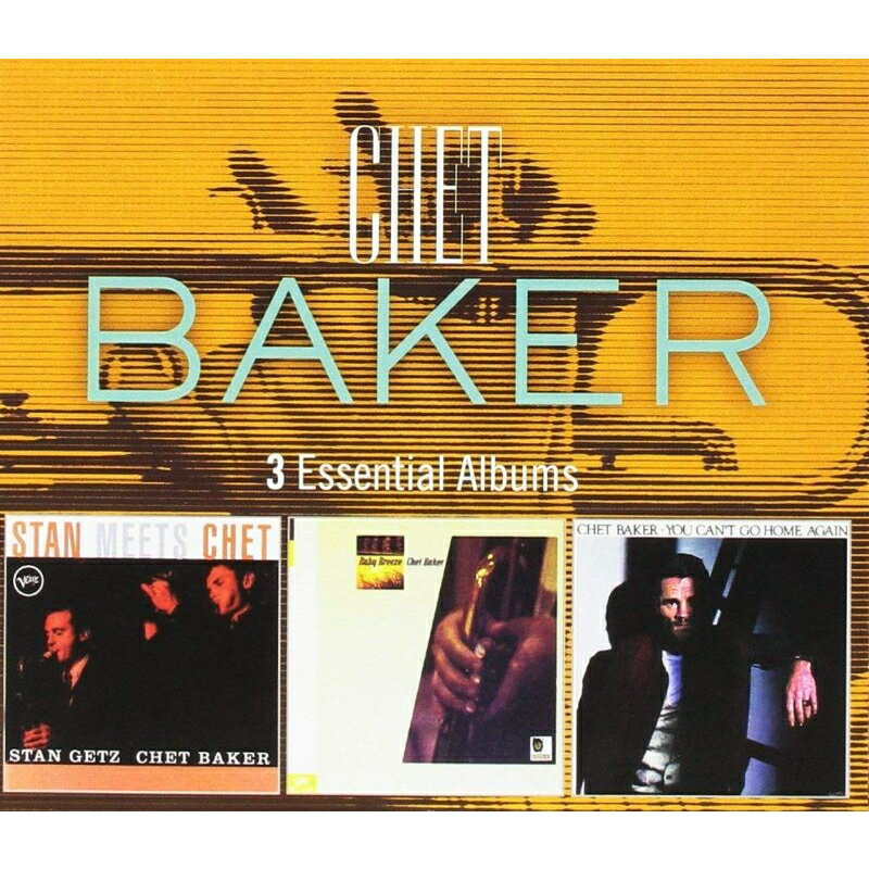 モダン, その他 3 Essential Albums (3CD) Chet Baker