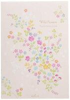 日本ホールマーク レターパッド ワイルドフラワー 614867
