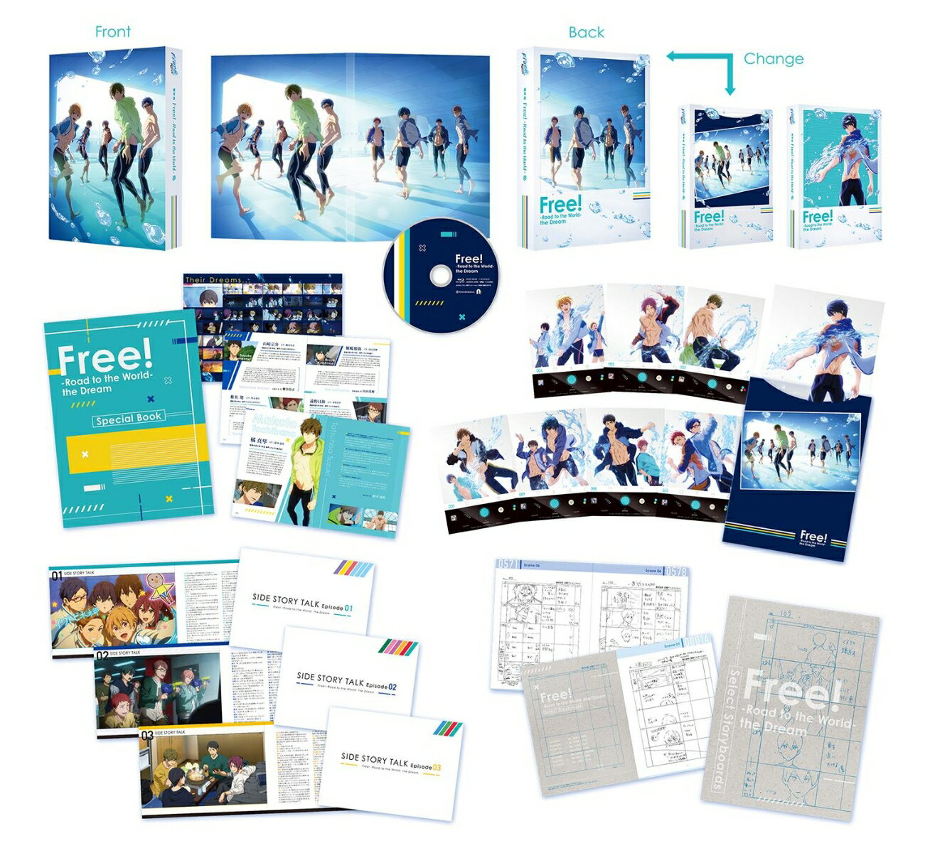 アニメ, キッズアニメ Free!-Road to the World-Blu-ray