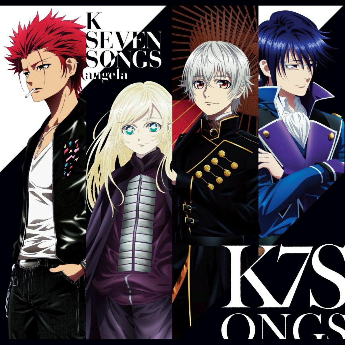 劇場アニメーション「K SEVEN STORIES」ED主題歌集 (CD+Blu-ray)画像