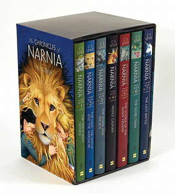 The Chronicles of Narnia Box Set: 7 Books in 1 Box Set BOXED-CHRONICLES NARNIA # CH (Chroni...