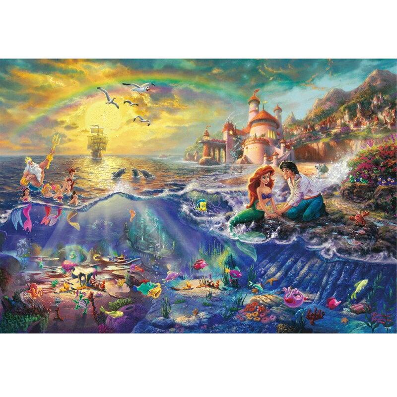 ジグソーパズル リトルマーメイド The Little Mermaid【1000ピース】(51x73.5cm) 1000ピース