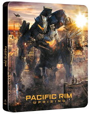 パシフィック・リム:アップライジング スチール・ブック仕様 ブルーレイ+DVDセット【日本限定4000セット】【Blu-ray】