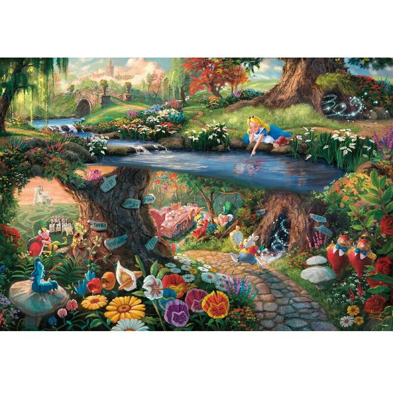 ジグソーパズル 不思議の国のアリス Alice in Wonderland【1000ピース】(51x73.5cm) 1000ピース