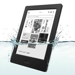 【楽天ブックスならいつでも送料無料】防水対応電子書籍リーダーKobo Aura H2O (ブラック)