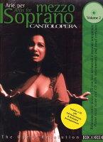 【輸入楽譜】カントロペラ: メゾ・ソプラノ・アリア集 第2巻: 伴奏CD付