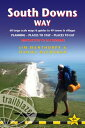 South Downs Way: Winchester to Eastbourne - Includes 60 Large-Scale Walking Maps  Guides to 49 Town SOUTH DOWNS WAY 6/E (British Walking Guides) [ Jim Manthorpe ]