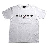 Ghost of Tsushima ロゴ&家紋 Tシャツ (SAMURAIデザイン)ホワイト - XL