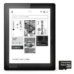 【楽天ブックスならいつでも送料無料】【優待販売】Kobo Aura ブラック 16GB micro SDカードセット