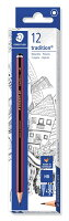 ステッドラー 鉛筆 トラディション 一般用 デザイン HB 12本 110-HB