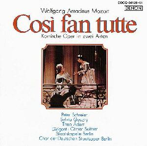 【送料無料】モーツァルト生誕250年記念::モーツァルト:オペラ≪コジ・ファン・トゥッテ≫