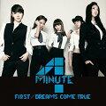 FIRST/DREAMS COME TRUE(初回限定盤B CD+DVD)