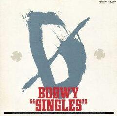 【送料無料】BOOWY SINGLES