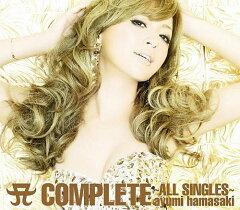 【送料無料】A COMPLETE ~ALL SINGLES~ (DVD付き) [ 浜崎あゆみ ]