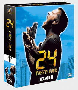 【送料無料】24-TWENTY FOUR- シーズン6<SEASONSコンパクト・ボックス>【1話無料DVD付き】