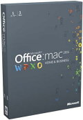 Microsoft Office for Mac Home and Business 2011(本数限定)