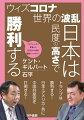 新型コロナウイルスのために世界中が大変な事態に陥った。日本は民度の高さで被害は最小限で済んだ。ウィズコロナの時代には日本がアジアの盟主となり、再選されたトランプ大統領とともに、中国を兵糧攻めにし、民主主義のリーダーとなる!