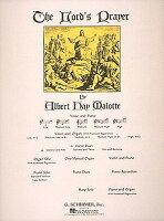 【輸入楽譜】マロット, Albert Hay: 主の祈り(ソプラノ/アルト デュエット)/Deis編