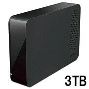 BUFFALO 外付けHDD 3TB(USB3.0用)