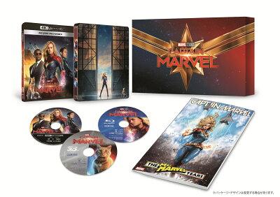 キャプテン・マーベル 4K UHD MovieNEXプレミアムBOX(数量限定)【4K ULTRA HD】