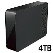 BUFFALO USB3.1(Gen1)/USB3.0用 外付けHDD 4TB ブラック HD-NRLC4.0-B