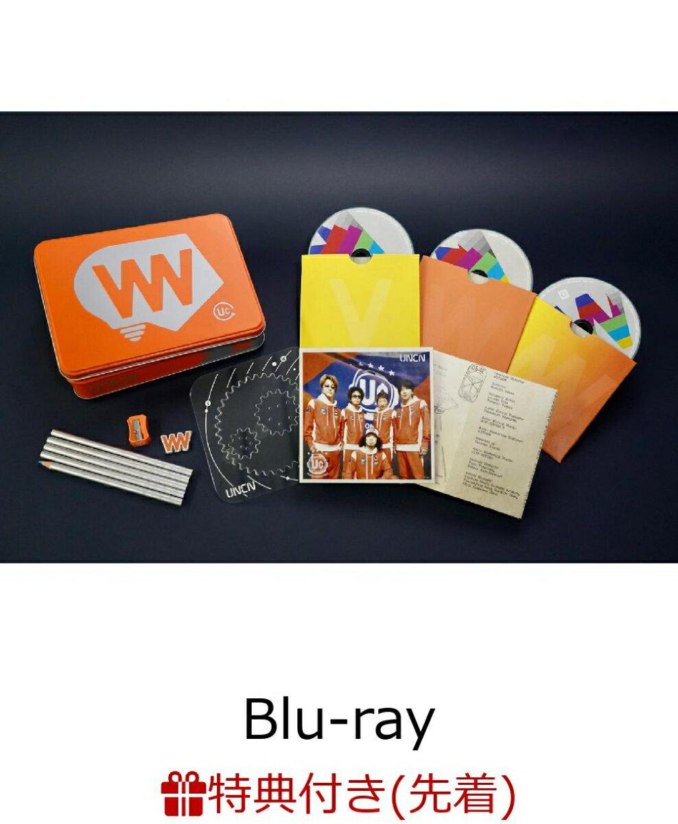 """【先着特典】MOVIE 38 ユニコーン100周年ツアー """"百が如く"""" BD完全生産限定盤(Blu-rayDisc Video3枚+グッズ)(ネームタグ付き)【Blu-ray】"""