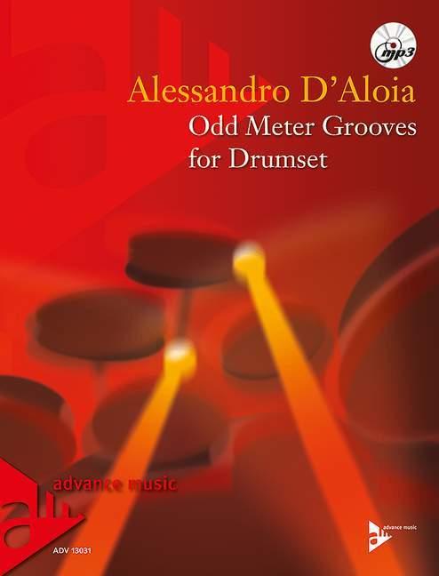 【輸入楽譜】D'ALOIA, Alessandro: Odd Meter Grooves(MP3 CD付)画像