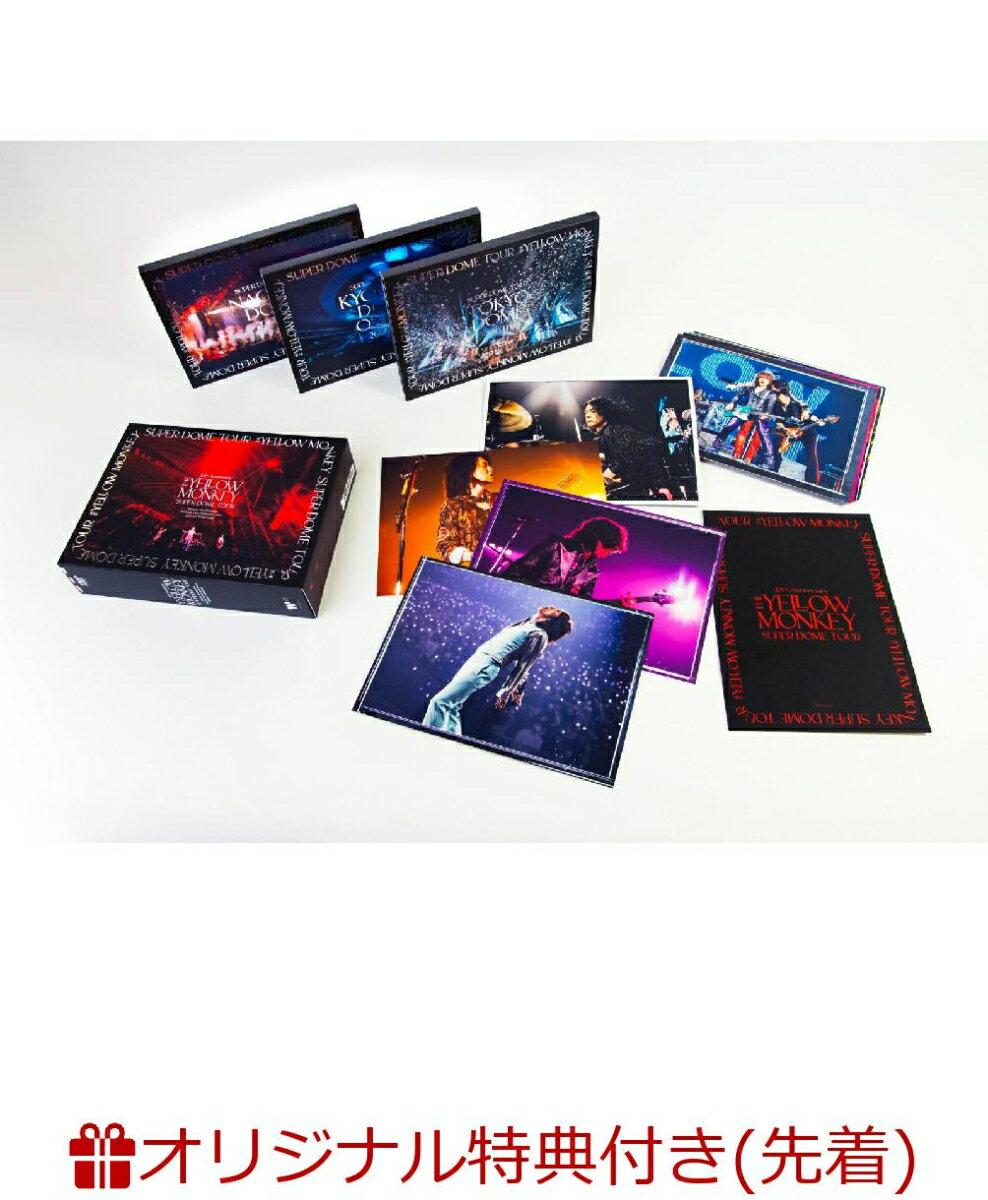 【楽天ブックス限定先着特典】30th Anniversary THE YELLOW MONKEY SUPER DOME TOUR BOX(ファミリーマート受け取り限定先着特典:オリジナル・ドリンクホルダー)