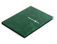 テージー スタンプアルバム Bタイプ A5 台紙8枚 緑 SB-20N-03